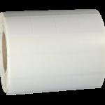 ONE2ID Vinyl Wickeletikett weiß selbstlaminierend