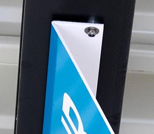 ONE2ID Lagerschilder Tiefkühllager Magnete Decke