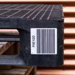 ONE2ID Palettenetiketten Lageretiketten mit Barcode
