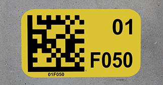 ONE2ID Bodenmarkering Bodenkennzeichnung Lageretiketten
