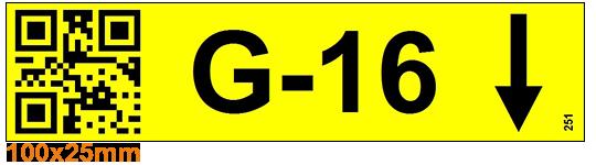 ONE2ID Kommissionierung QR-Code-Etikett Lageretiketten