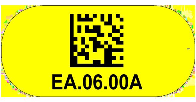 ONE2Id Economy Bodenschilder Lageretiketten Bodenkennzeichnung