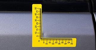 ONE2ID Wiederablösbare Etiketten Autoreparatur Kfz-Reparatur