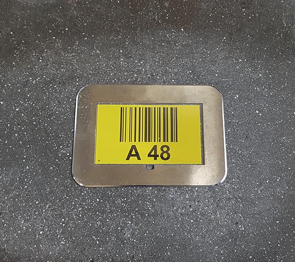 ONE2ID Bodenrahmen Bodenmarkierung Bodenkennzeichnung