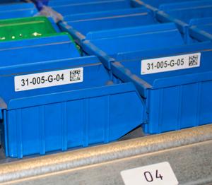 ONE2ID Lagerlifte Barcode-Etiketten-Kardex-Modula-Kommissionierung