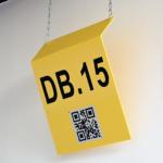 ONE2ID Lagerschilder Lagerkennzeichnung Schilder Fern-scannen