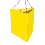 ONE2ID Lagerschild Dreieck long range Blocklager