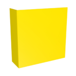 ONE2Id Lagerschild mit Winkel Gangschild Regalschilder L-Schild