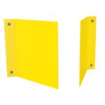 ONE2ID Lagerschilder V-Schild doppelseitig Gänge Regale