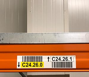 Tiefkühletiketten Barcode-Etiketten Kühlräume