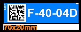 ONE2ID Fachbodenetiketten Kommissionieretiketten Regale Magnete