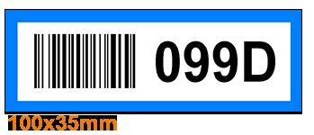 ONE2ID Barcode-Etiketten Kommissionierung Lager