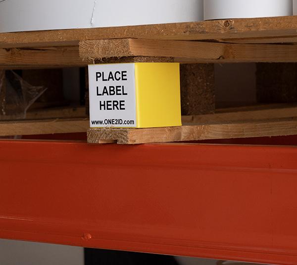 ONE2ID Palettenetiketten wiederablösbar Lageretiketten