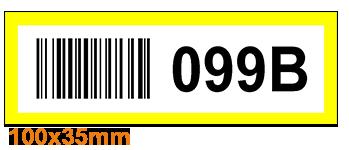 ONE2ID Regalbeschriftung Barcode-Etiketten